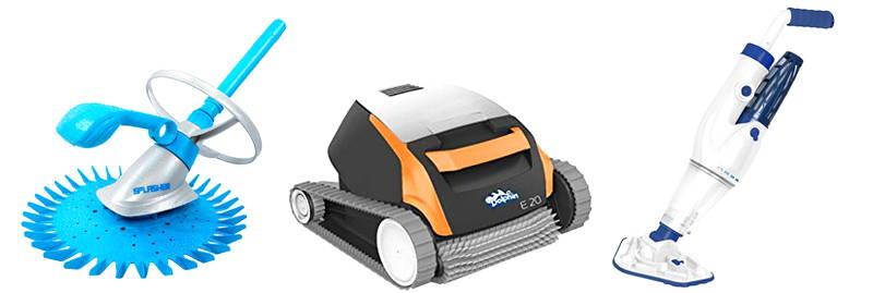 tipos de robots limpiafondos