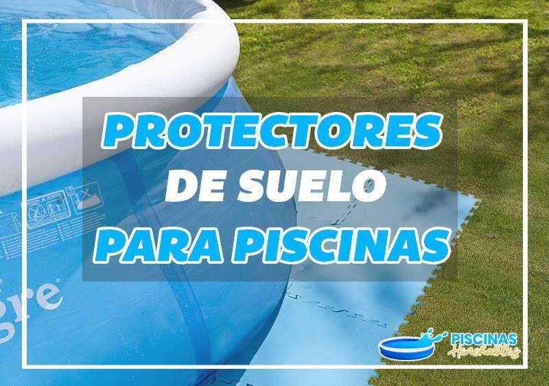 protectores de suelo para piscinas