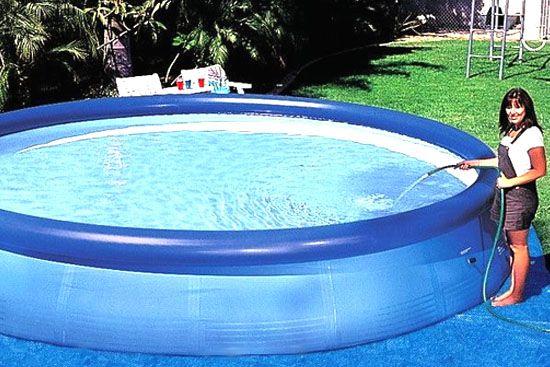 como montar una piscina hinchable correctamente