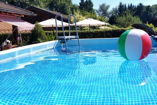 piscina desmontable fácil de instalar
